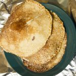 plato panqueques cebolla papa