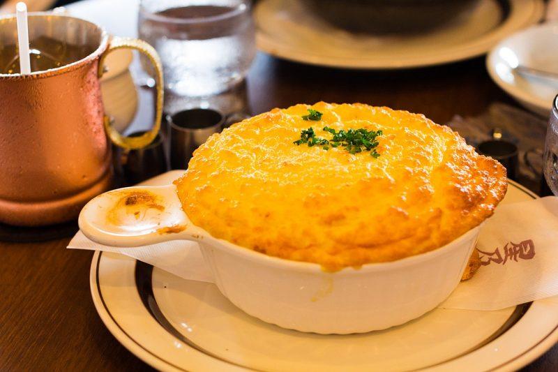 molde con souflé
