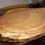 plato panqueques de celíacos