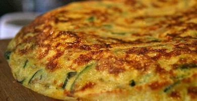 receta tortilla espinaca