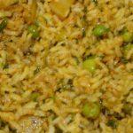 arroz con vegetales