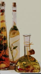 Vinagres saborizados con hierbas o especias