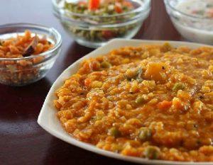 Un plato antifrío con lentejas