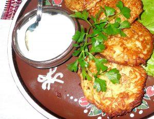 Tortitas de vegetales al horno