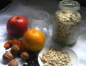 Desayuno energético y vegetariano