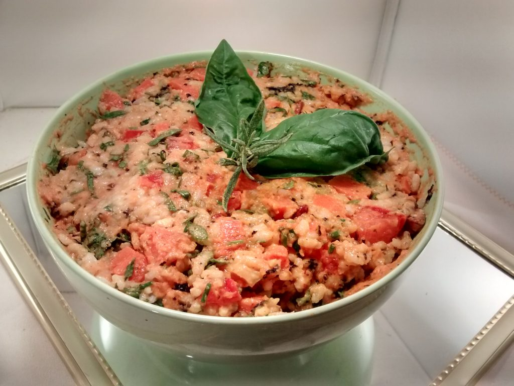 Ensalada de arroz y mayonesa de zanahoria