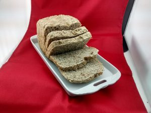 Pan casero integral en minutos