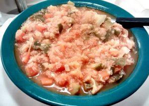 Cazuela de cous cous lentejas y brócoli