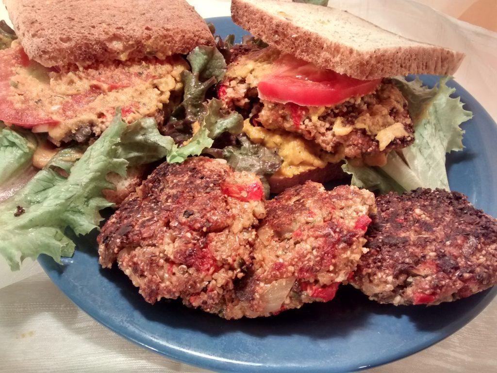 hamburguesas berenjenas, aprende a prepararlas estas deliciosas hamburguesas