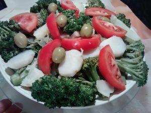 mira como se prepara esta ensalada de brócoli, chauchas, papa y disfrútala