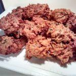 fuente de buñuelos de zanahoria