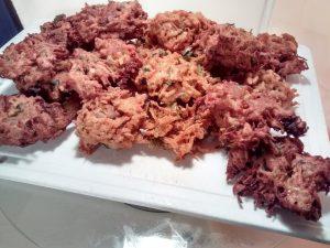 buñuelos de zanahorias
