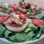papas rellenas frías, una comida fresca y deliciosa, aprovecha a prepararla y a disfrutarla