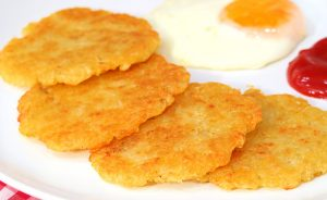 Tortitas de Papas o Hash Brown