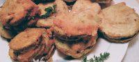 Sandwiches de zucchini y muzzarella