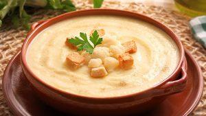 Crema de coliflor | receta muy fácil rápida y sana